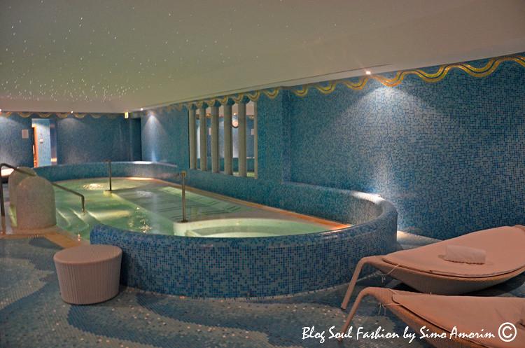 Detalhes do maravilhoso SPA do Hotel de Russie! Adorei relaxar curtindo a hidromassagem.