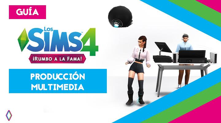 Producción multimedia en Los Sims 4: guía completa
