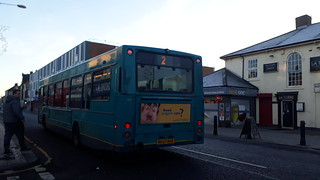 Arriva north east 1401 in the winter sun | by Cameron's bus photos