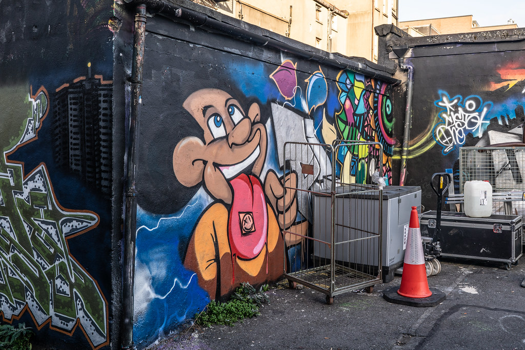 STREET ART AT THE TIVOLI CAR PARK - NOVEMBER 2018 009