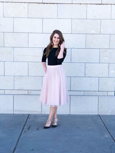 Black and blush combo in Delano | by Leighton Michele