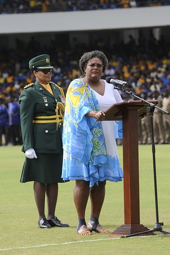 Prime Minister Mia Amor Mottley | by barbadosgovernmentinformationservice