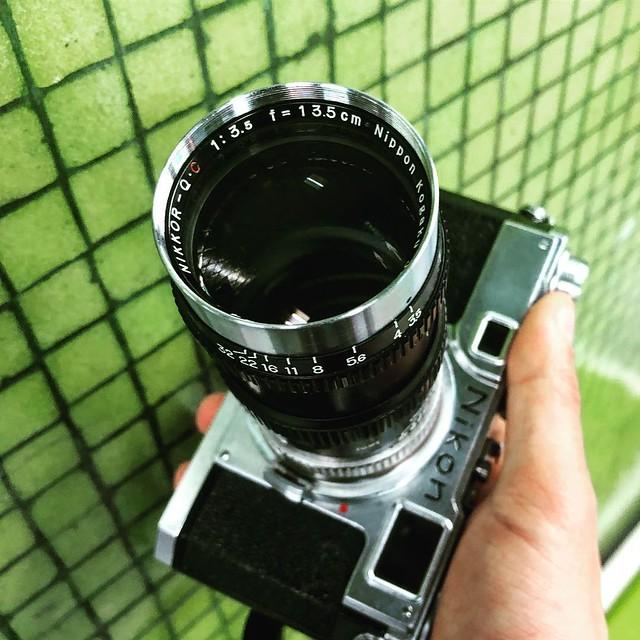 Nikon 135mm f3.5 Q.C瘦身旁軸小炮