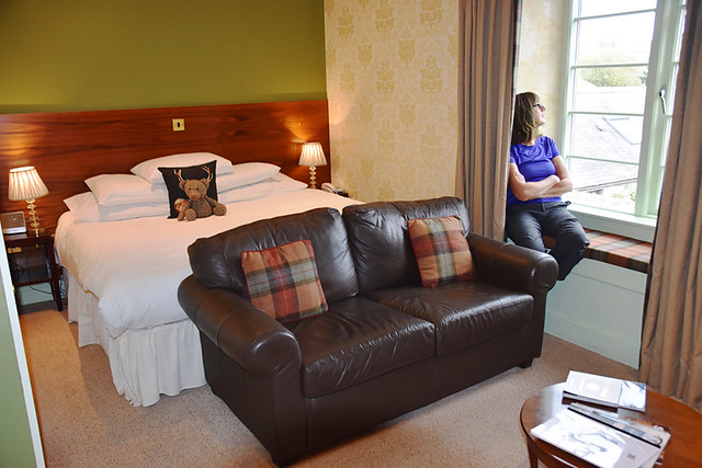 Partridge bedroom, Blackaddie Hotel, Sanquhar, Scotland