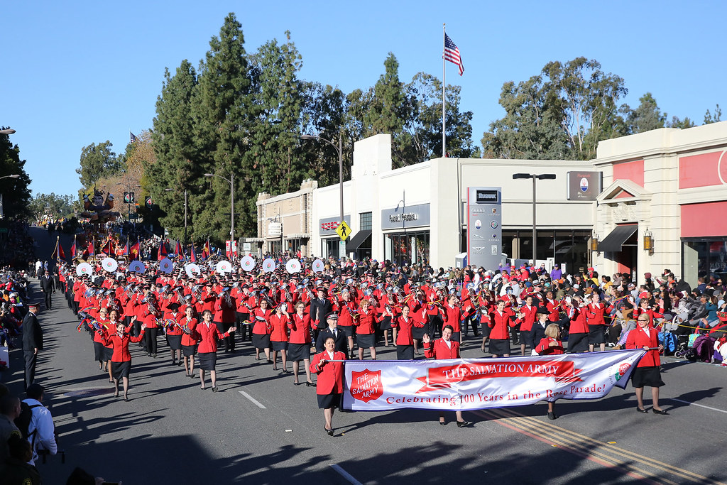 The Salvation Army in the 2019 Rose Parade