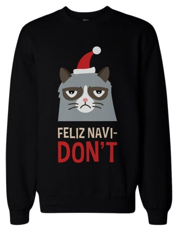 Grumpy Cat Ugly Christmas Sweater.Compilation Of Best Funny Ugly Christmas Sweaters For 2018