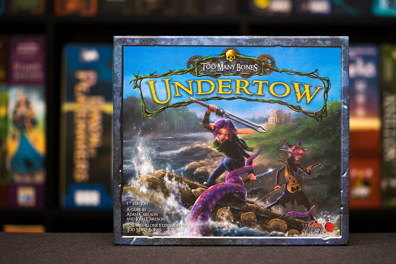 Reseña De Too Many Bones Undertow Doctor Meeple