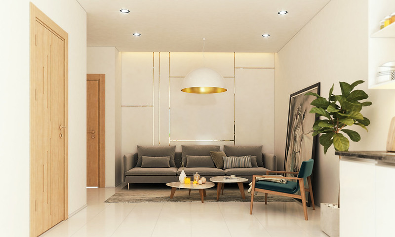 Thiết kế mẫu căn hộ Studio D-One