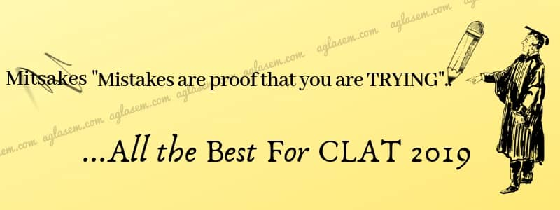 CLAT 2019 Mock Test