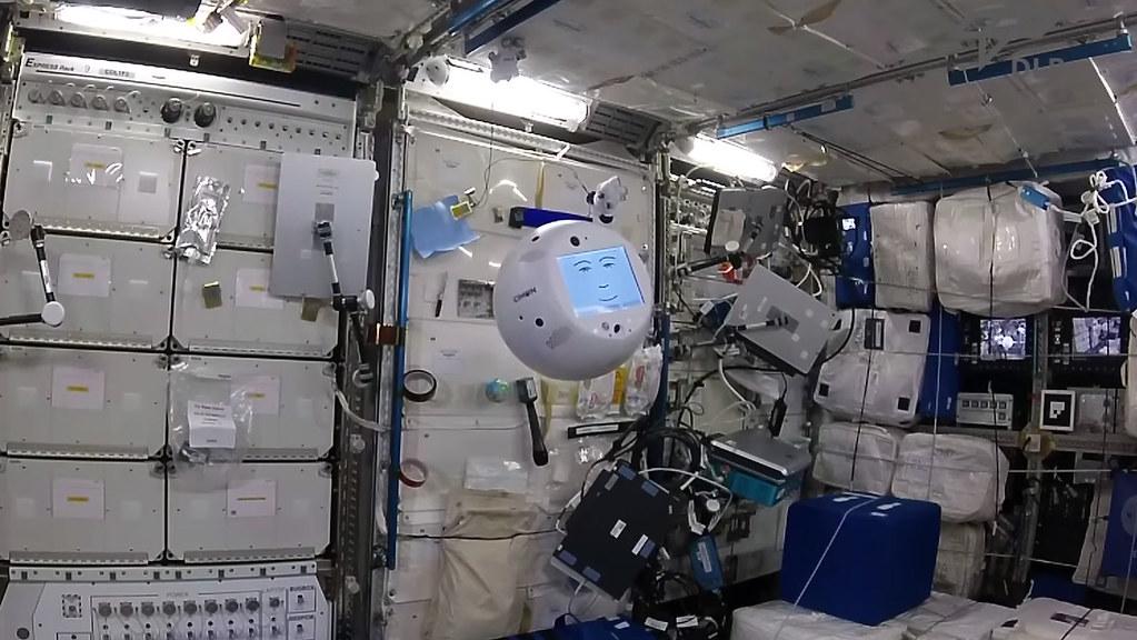 Cimon 3D-Printed AI Robot ISS
