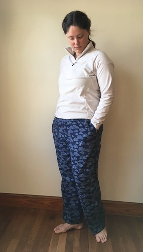 Quick and Easy Pajama Pants:  McCall's 3019 | by patternandbranch