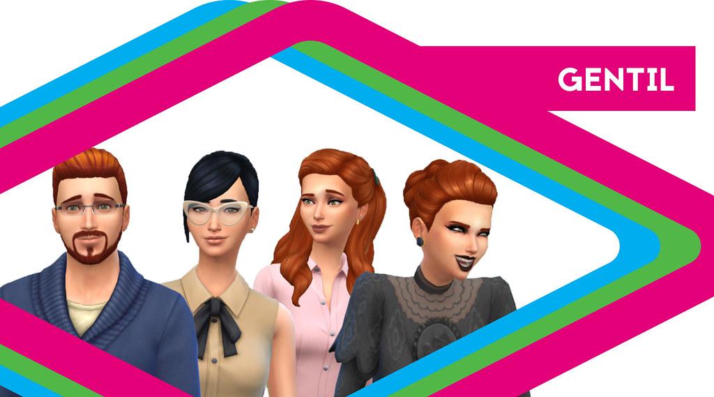 Sims de antaño: Los Gentil