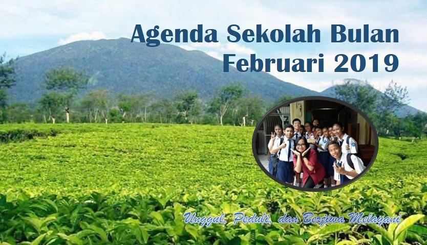 Agenda Bulan Februari 2019