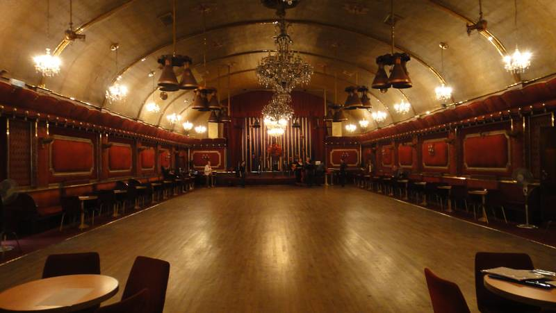 Interior Rivoli Ballroom London