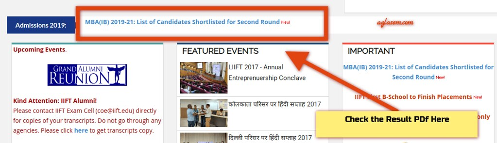 IIFT 2019 Result declared at iift.edu; 6% Rise in candidates shortlisted for GDPI