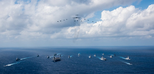 The Ronald Reagan Strike Group finished exercise Keen Sword 2019 with units from the U.S. Air Force, the Japan Maritime Self-Defense Force (JMSDF) and the Japan Air Self-Defense Force on November 8th.