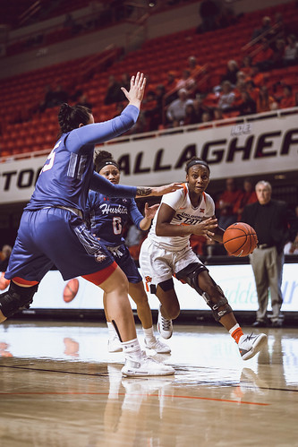 Cowgirl Basketball vs. Houston Baptist | by OSUAthletics
