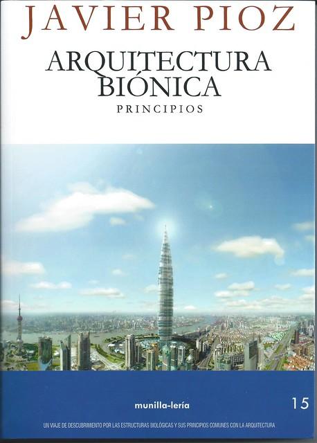 Arquitectura Biónica, portada