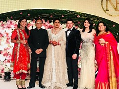Mannara Chopra at Priyanka Chopra's reception