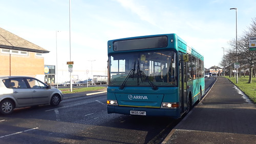 Arriva north east 1767 in the winter sun | by Cameron's bus photos