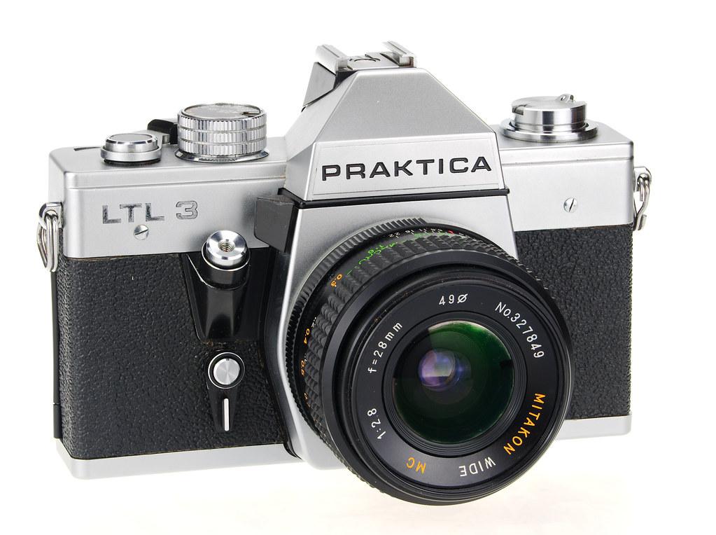 Praktica ltl slr it is fitted with a mitakon wide mc mmu flickr