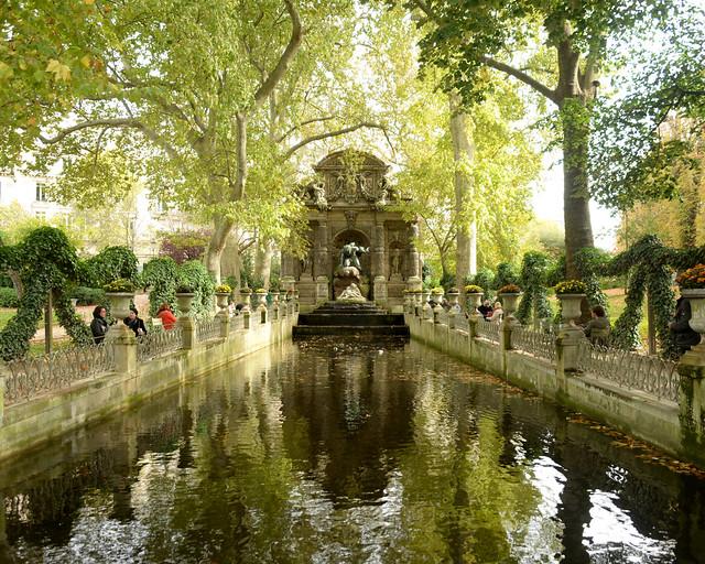 Fuente de los jardines de Luxemburgo