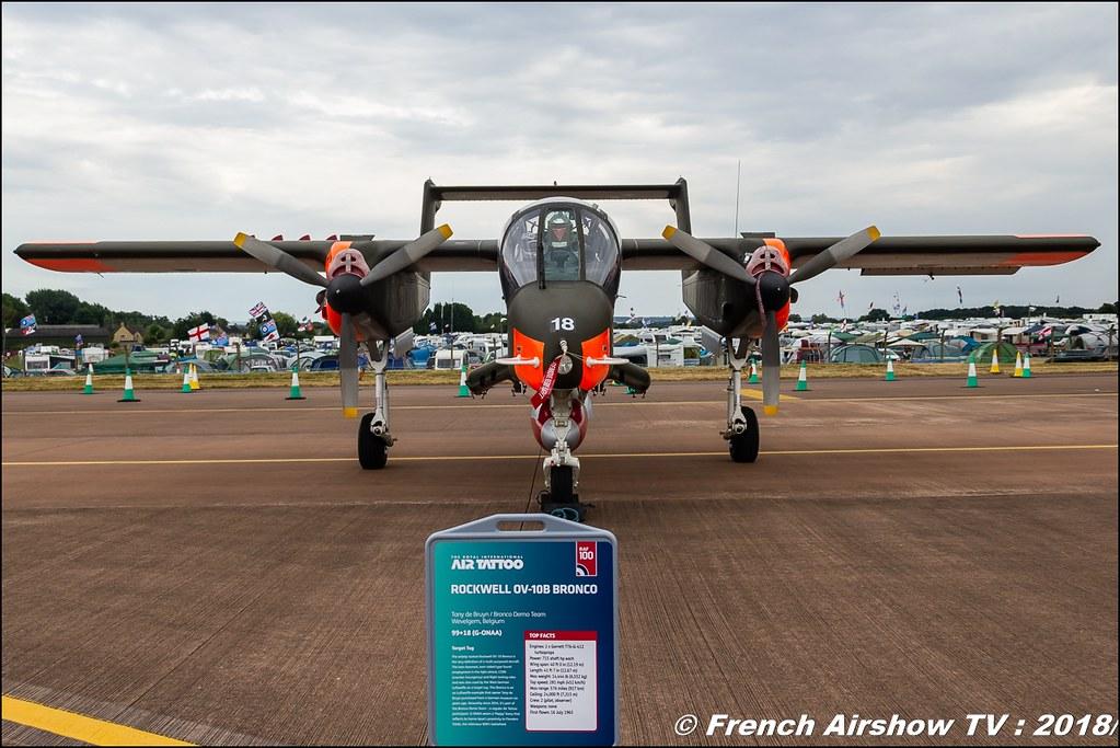 OV-10 Bronco RIAT 2018 - Royal International Air Tattoo RAF Fairford Royaume-Uni Canon Sigma France contemporary lens Meeting Aerien 2018