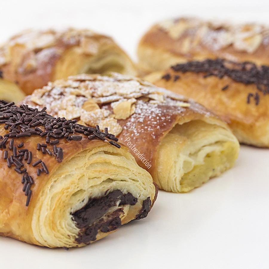como hacer croissants y napolitanas