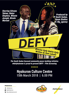DEFY-The Film Screening Nairobi poster-print | by defyhatenow