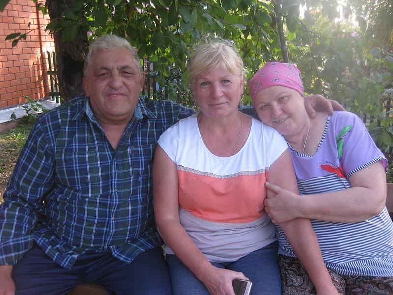 Овчинников Лёва, Отставнова (Копылова) Мария Андреевна и Копыловой Любовь Семёновна