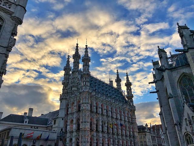 Grote Markt de Lovaina (Flandes)