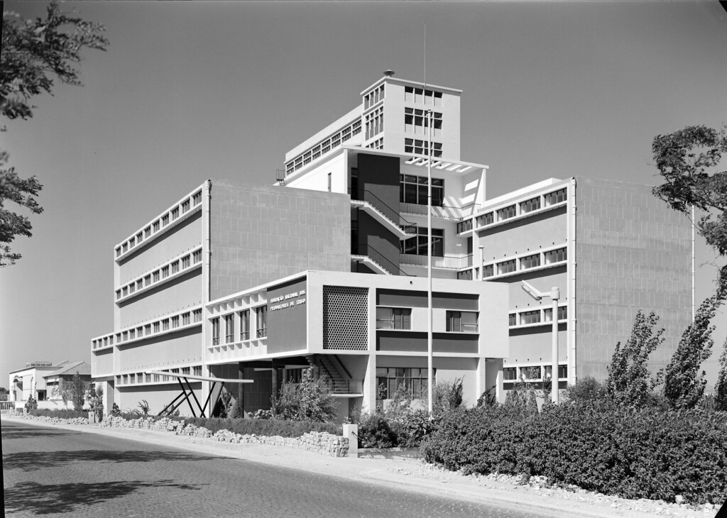 Federação Nacional dos Produtores de Trigo, Vila Franca de Xira (M. Novais, c. 1957)