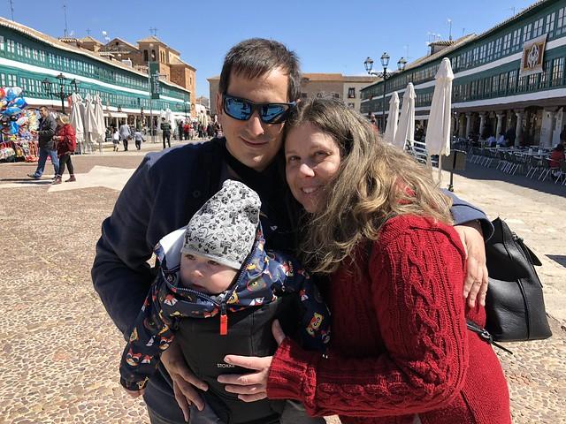 La familia en Almagro (Ciudad Real)