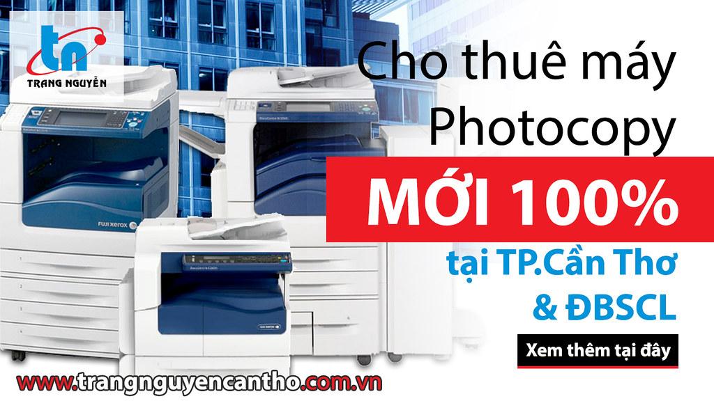 Phân phối máy in, máy photocopy, máy quét, mực in, dịch vụ sửa chữa, máy văn phòng tại Cần Thơ