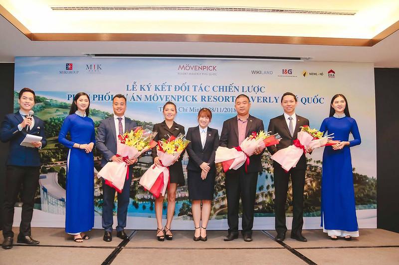 Giám đốc ERA Vietnam tại lễ ký kết phân phối dự án Movenpick Phú Quốc