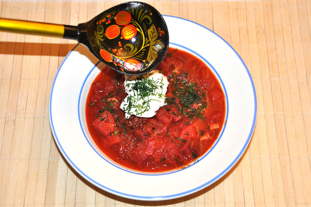 Brauch am Neujahrstag: Vegetarische russische Sauerkraut-Schtschi ... Foto: Brigitte Stolle