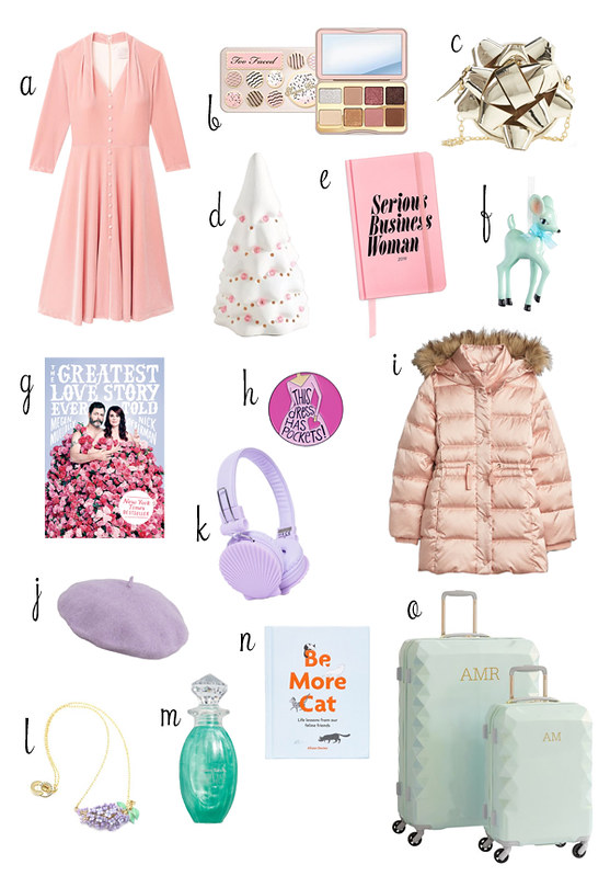 pastel gift guide 2018