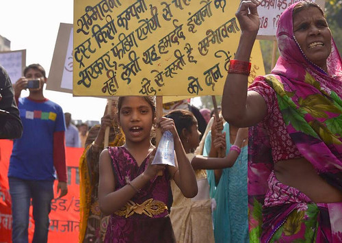 Protest March and Effigy Burning, 3rd December | by Bhopal Medical Appeal