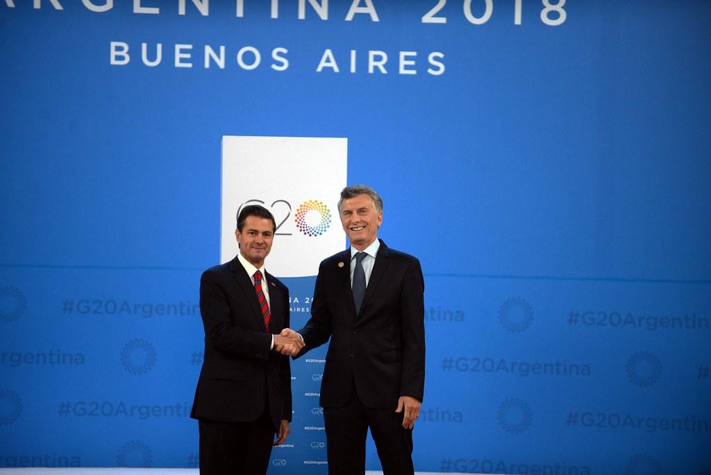 Bienvenida Oficial Presidente De México Enrique Peña Ni Flickr