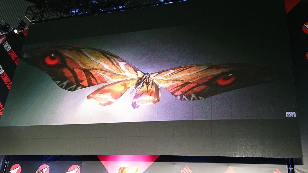 181201 - 電影『怪獸宇宙』第3部曲《哥吉拉II 怪獸之王》新登場主角「摩斯拉×王者基多拉×拉頓」全身造型大公開!