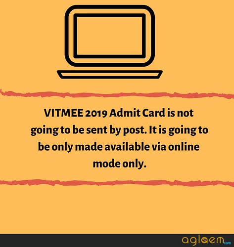 VITMEE 2019 Admit Card - Book Slots and Download Admit Card!