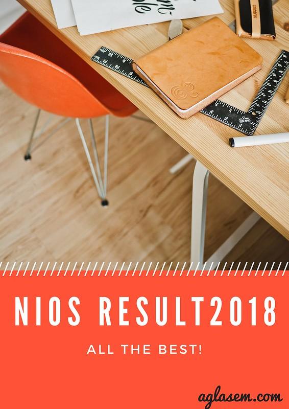 NIOS Result 2018