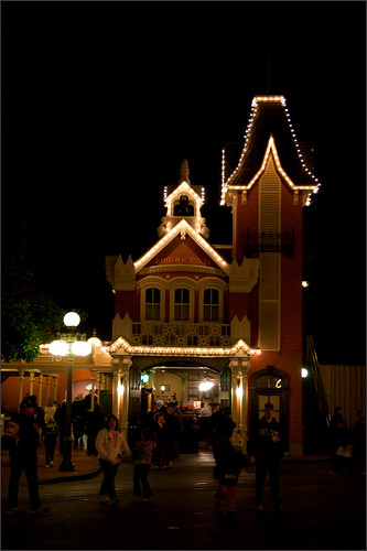 Original of the Disney Main Street image