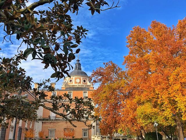 Palacio Real de Aranjuez en otoño