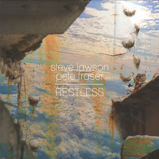 cover art for the album Restless by Steve Lawson and Pete Fraser