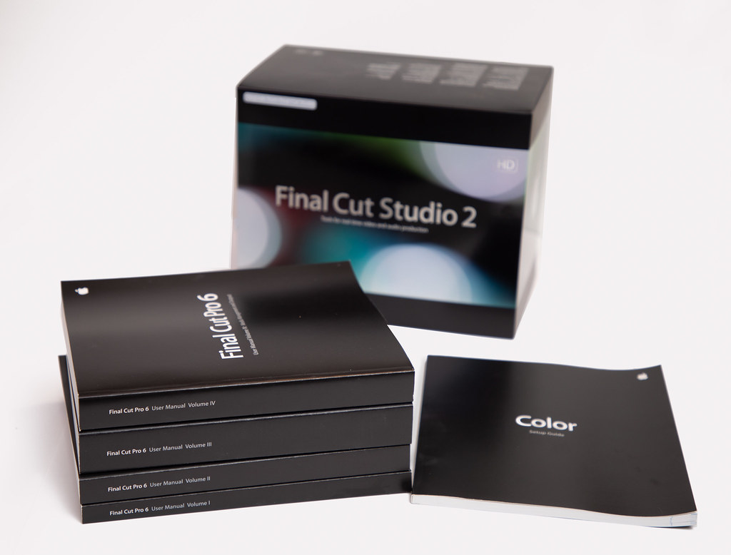 Manual final cut pro.
