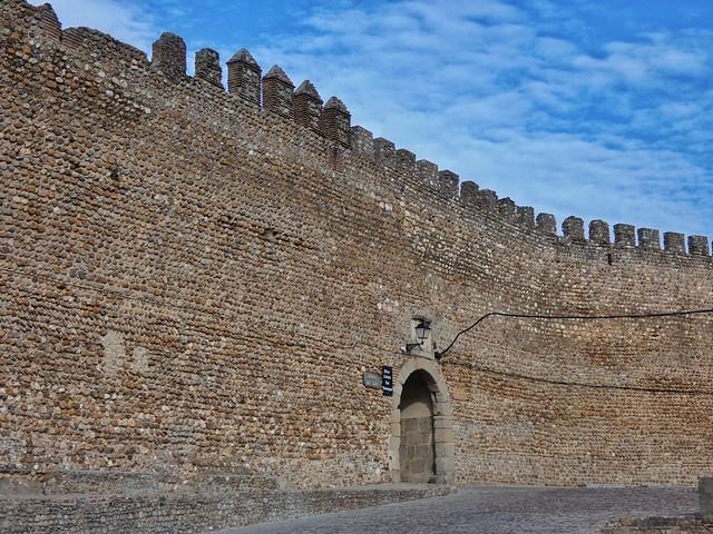 Murallas medievales de Galisteo en el Valle del Alagón (Cáceres, Extremadura)