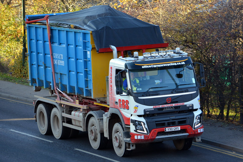 Grays Recycling Services Volvo X90 Grs Dan Earl Flickr
