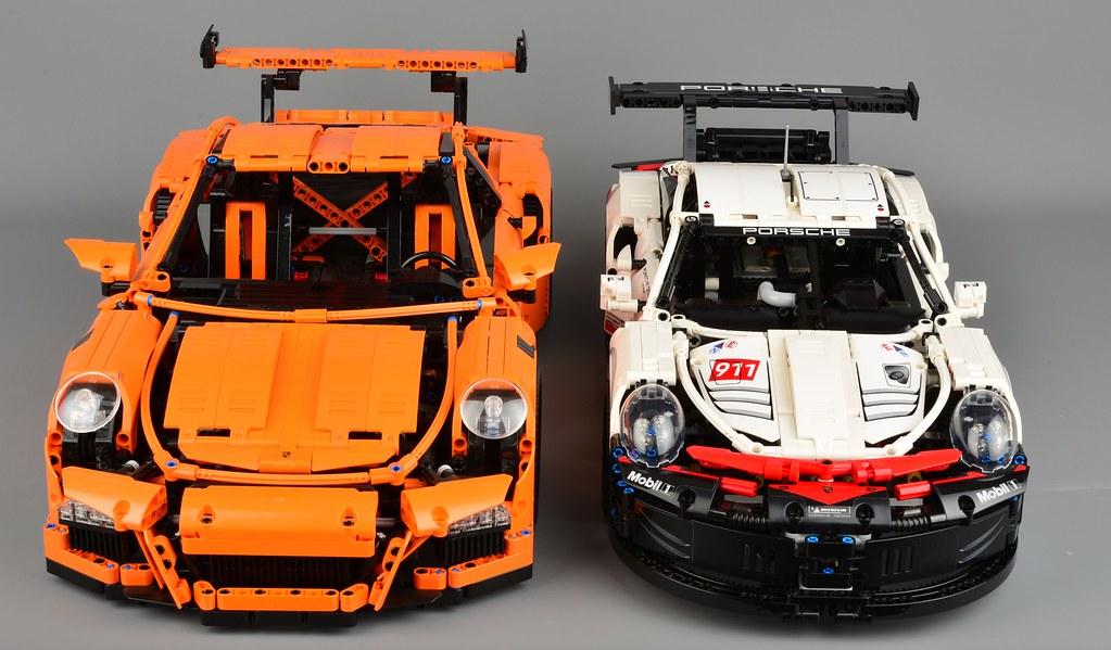 Lego Technic 42096 Porsche 911 Rsr Review Brickset Lego