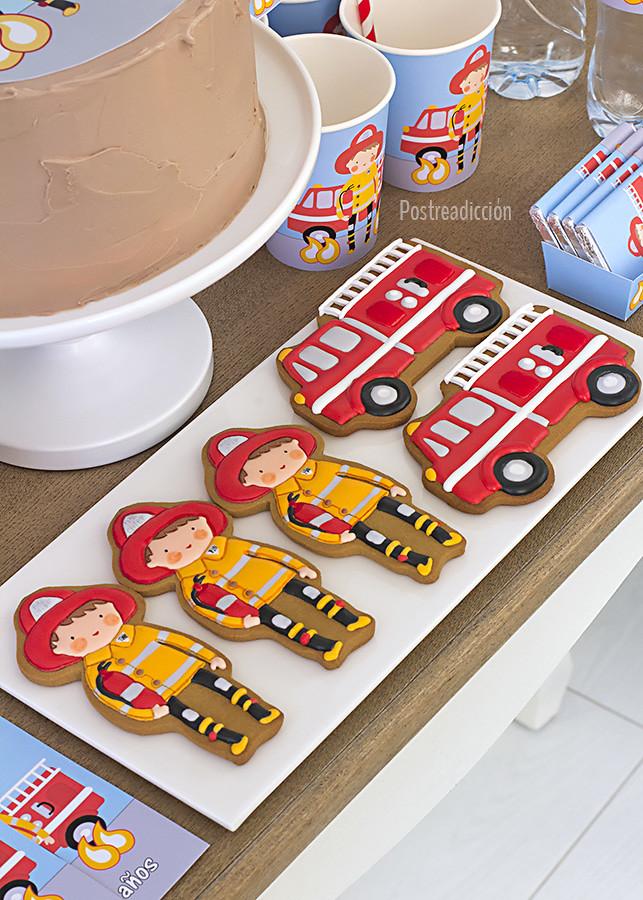 galletas bomberos